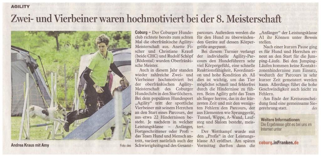 Presse-Bericht CT  A-Turnier   29.05.2015